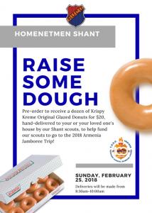 Krispy Kreme Raise Some Dough @ Krispy Kreme Donuts
