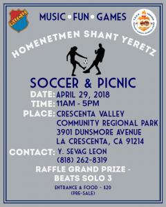 Soccer & Picnic @ Crescenta Valley Community Regional Park