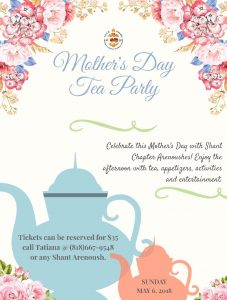 Mother's Day Tea Party