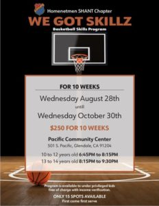 Basketball Skills Clinic - Ages 10-12 Years Old @ Pacific Community Center