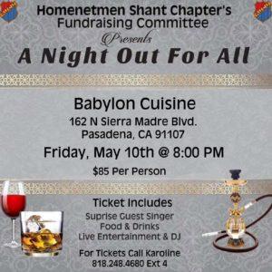Babylon Night Out For All @ Babylon Cuisine